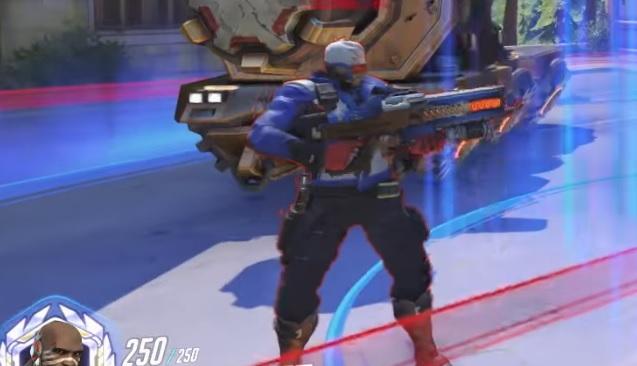 Overwatch Soldier76 new weapon skin