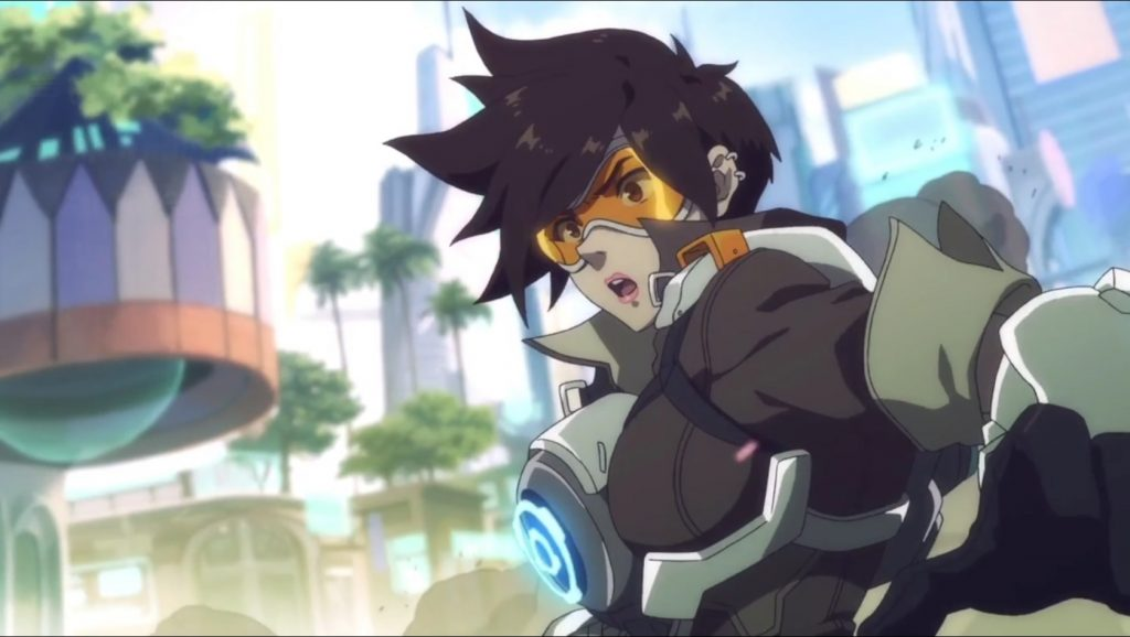 Overwatch Tracer Anime