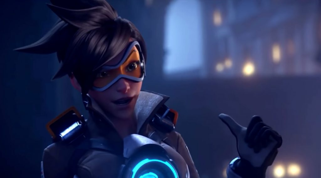 Overwatch Tracer Cool Pose