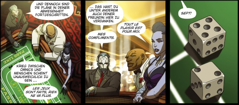 Overwatch Widowmaker Sieben Wuerfel