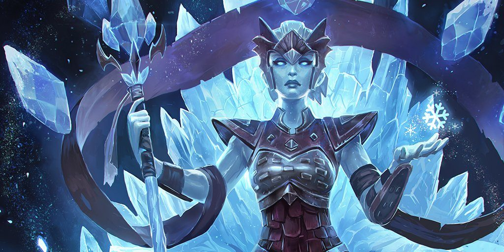 Paladins IceWalker Inara