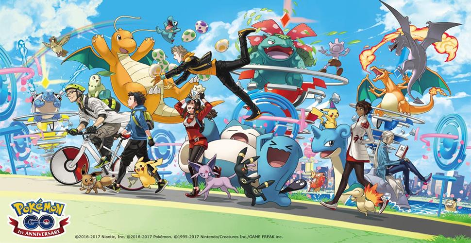 Pokémon GO Jubiläum Titel