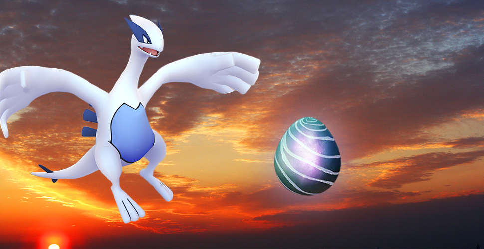 Pokémon GO Lugia Raid Boss Titel