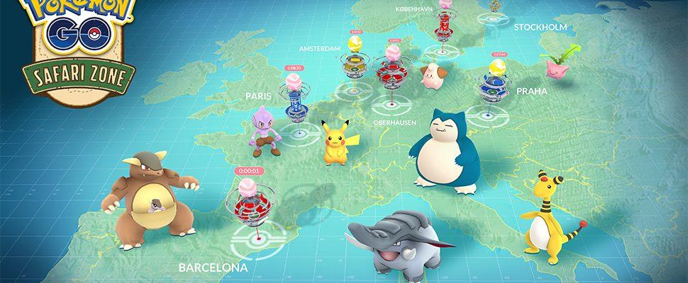 Pokémon GO: Safari Zonen sind gratis, Teilnehmer benötigen aber Anmeldung