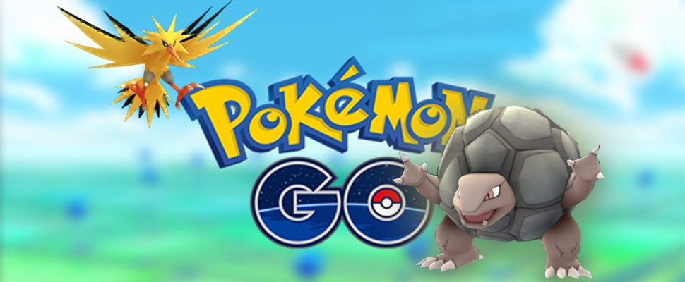 Pokémon GO: Legendäre Pokémon kontern – Trainer wählen Geowaz!