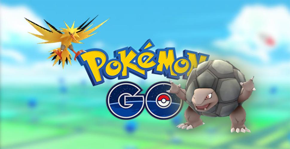 Pokémon GO TItel Geowaz Zapdos