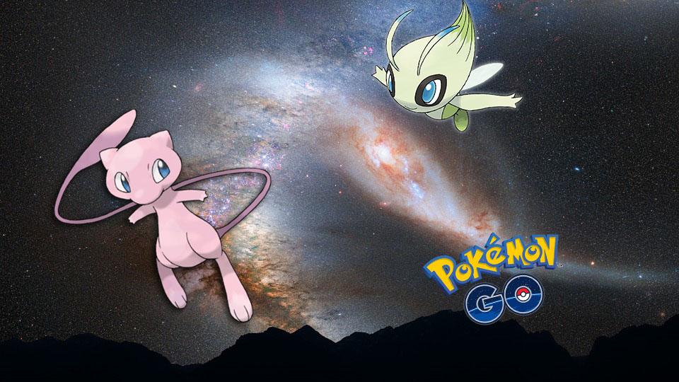 Pokémon Mew Celebi