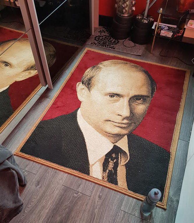 Putin Teppich