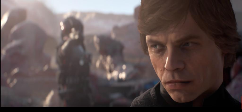 Star Wars Battlefront 2 Luke