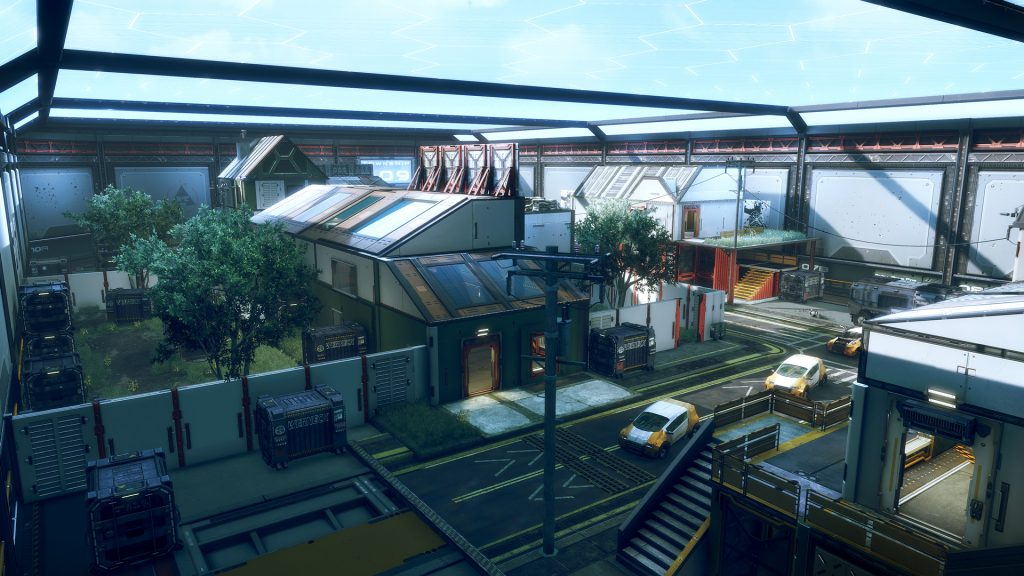 Titanfall 2 Township Map