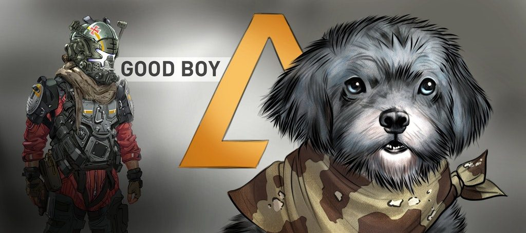 Titanfall2 Hunde Banner