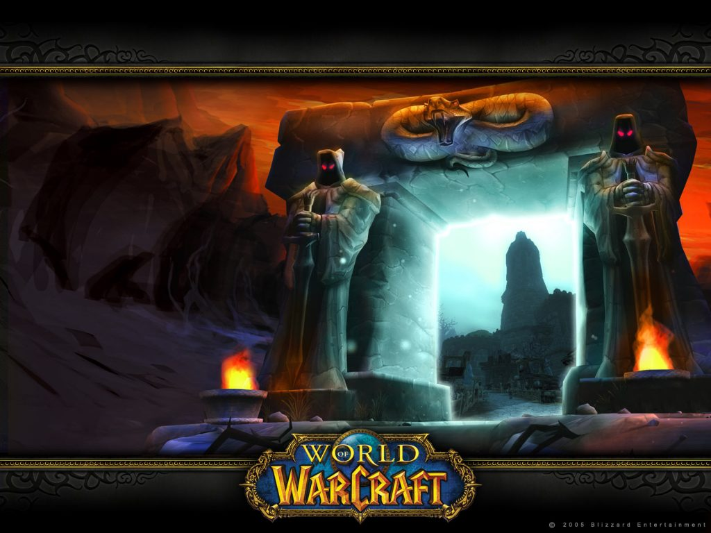WOW Nostalgie Loading Screen Dark Portal