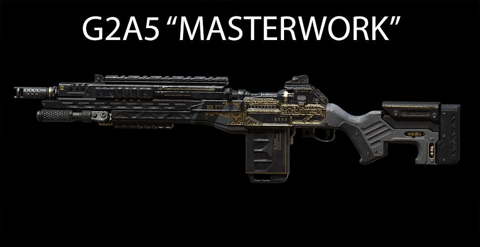 "Titanfall 2 G2A5 ""MASTERWORK"""