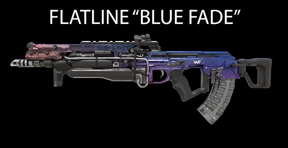 "Titanfall 2 FLATLINE ""BLUE FADE"""