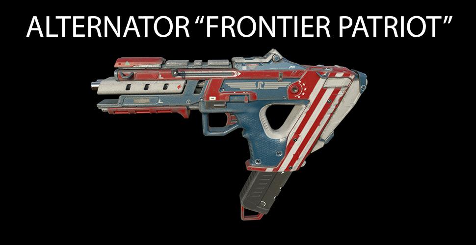 "Titanfall 2 ALTERNATOR ""FRONTIER PATRIOT"""
