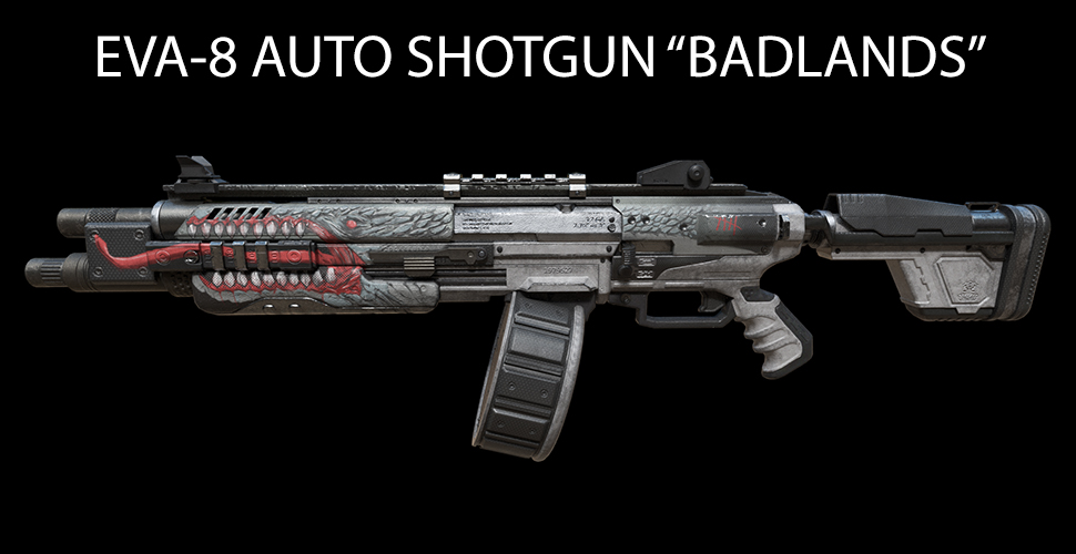 "Titanfall 2 EVA-8 AUTO SHOTGUN ""BADLANDS"""