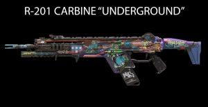 """Titanfall 2 R-201 CARBINE """"UNDERGROUND"""""""