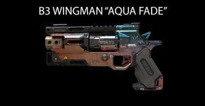 "Titanfall 2 B3 WINGMAN ""AQUA FADE"""