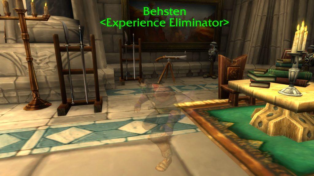 WoW Behsten Experience Eliminator