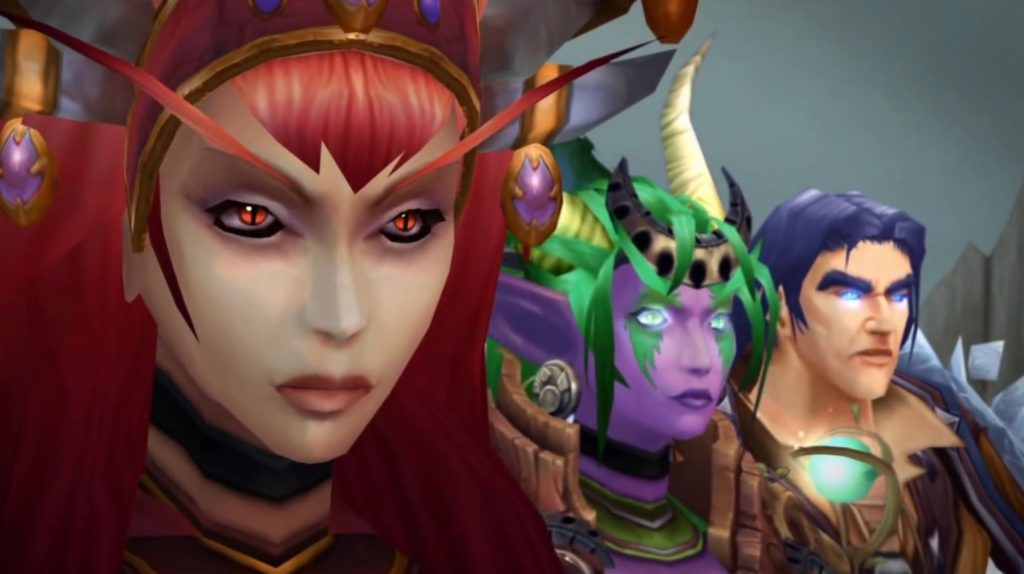 WoW Dragon Aspects Alexstrasza Ysera Kalecgos