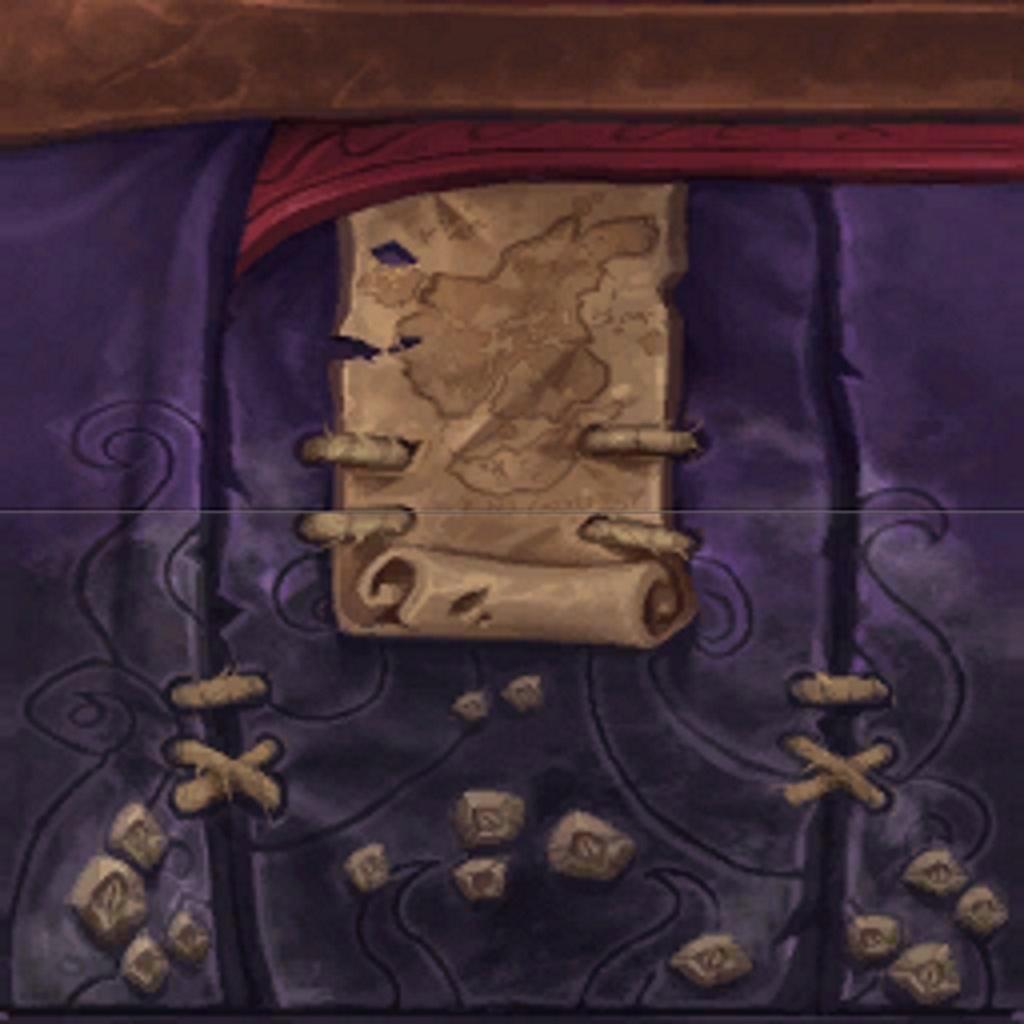 WoW Kul Tiras Map Robe