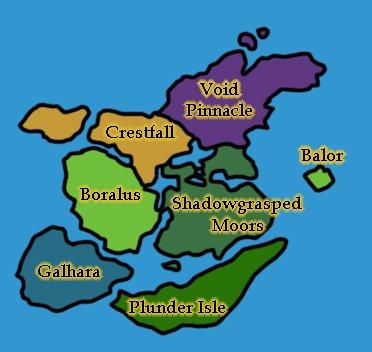 WoW Kul Tiras Redshirt Map Zones