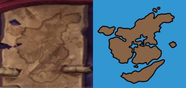 WoW Kul Tiras Redshirt Map
