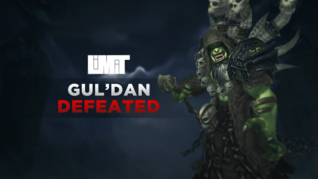 WoW Limit Guild Guldan Kill