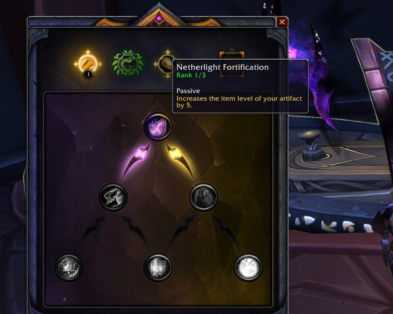 WoW Netherlight Crucible Upgrade