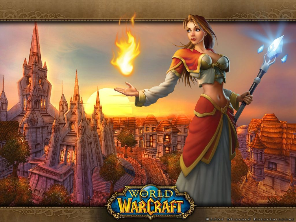 WoW Nostalgie Female Mage