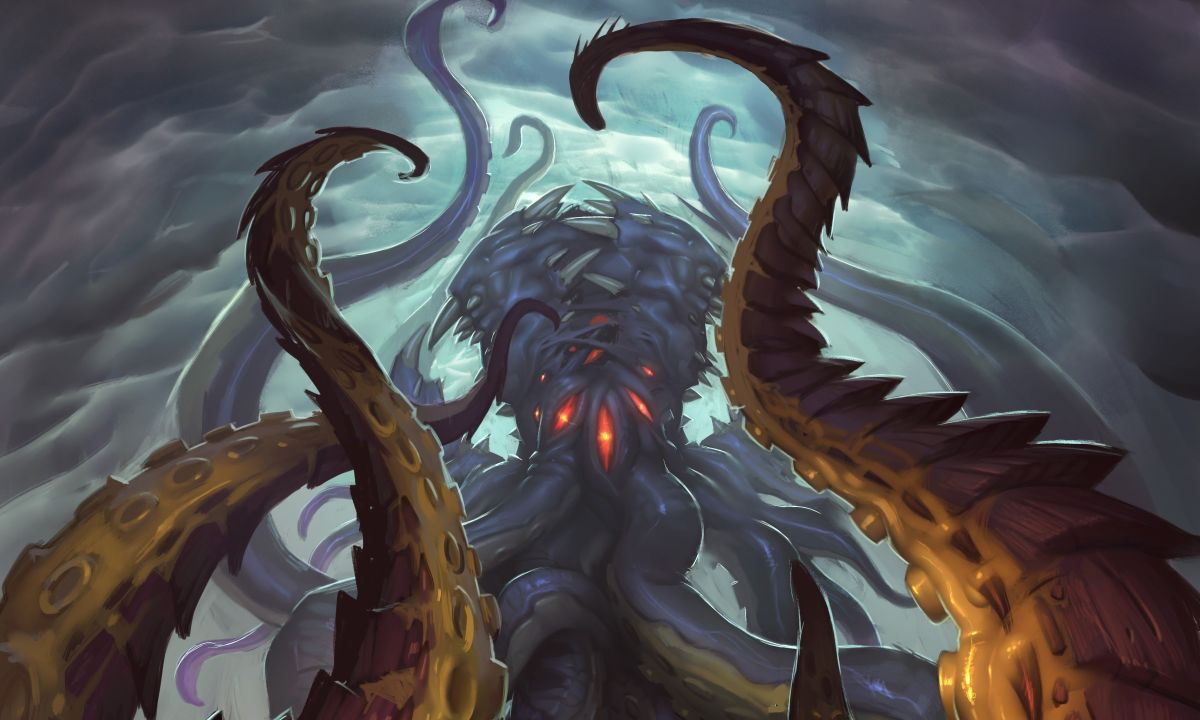 WoW Nzoth full artwork