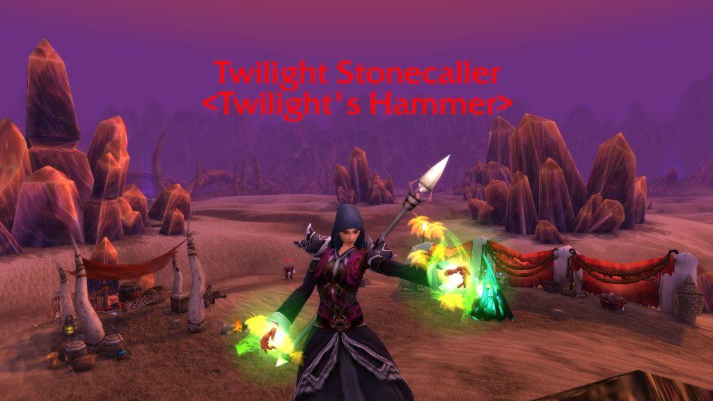 WoW Silithus Twilight Hammer