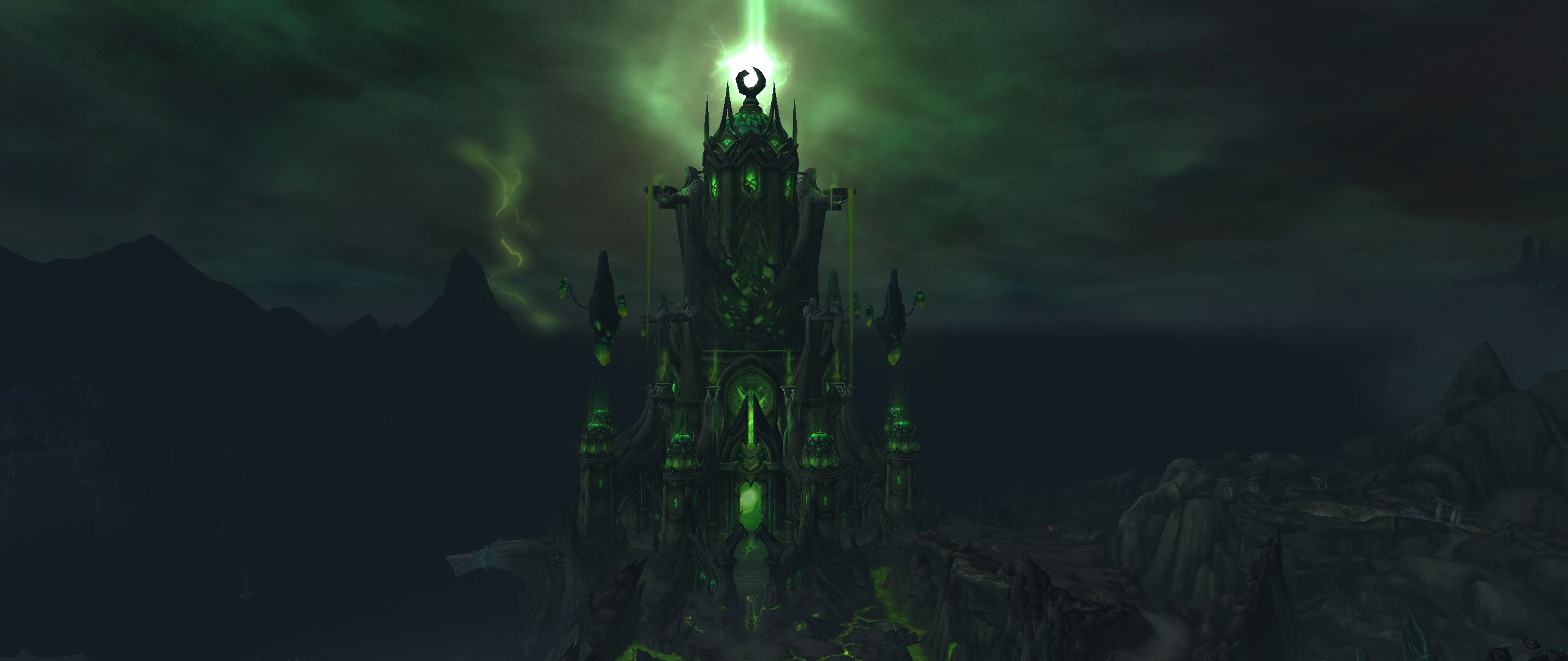 World of Warcraft WoW Tomb of Sargeras Screenshot