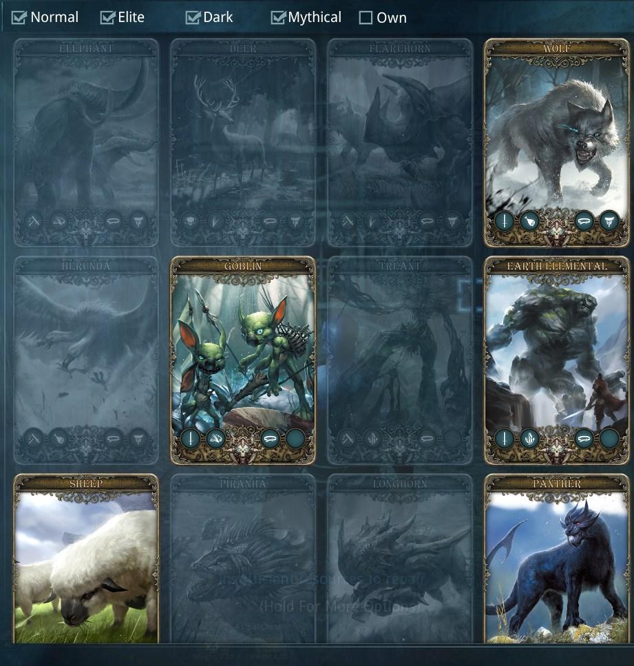 dark and light monsterkarten