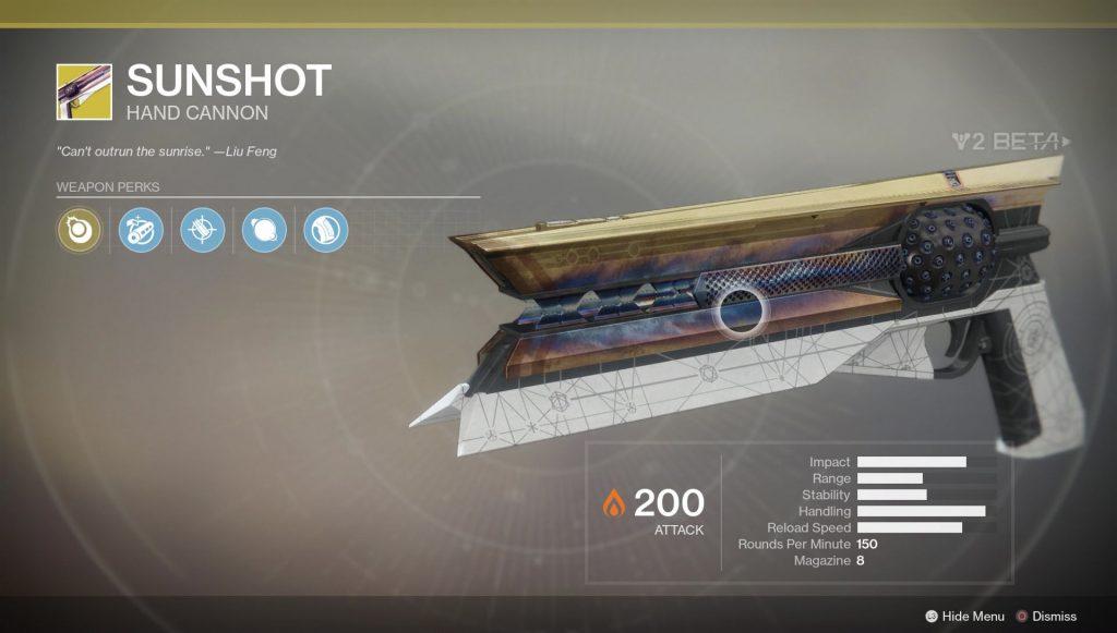 destiny-2-sunshot-exotic-handcannon-location