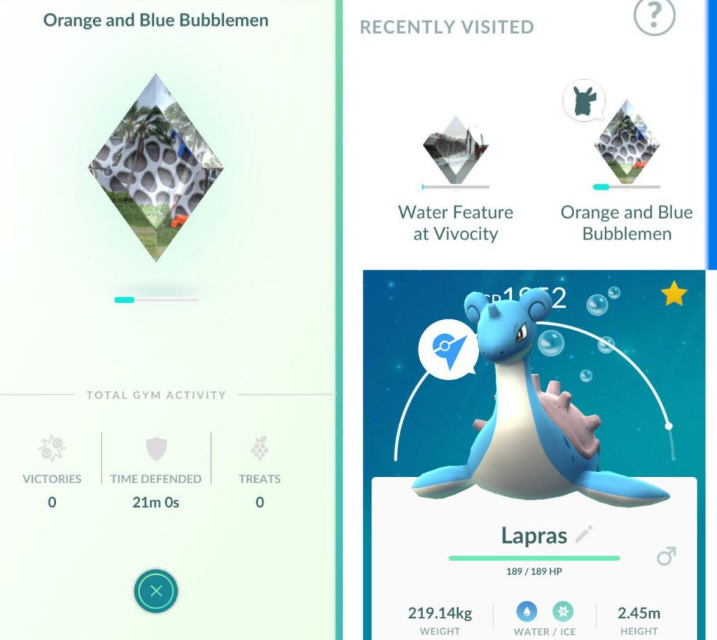 Pokémon GO Arena-Bug