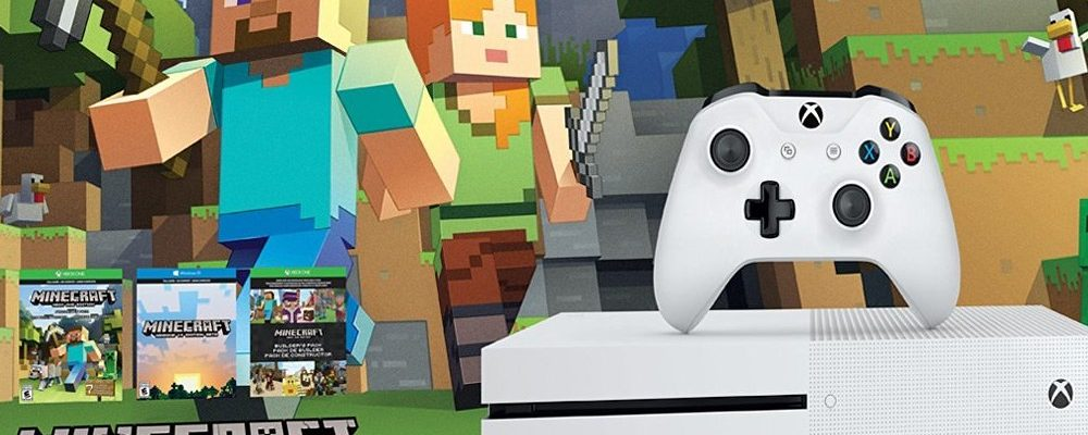 Xbox One S 500 GB in der Minecraft-Edition bei Microsoft im Angebot