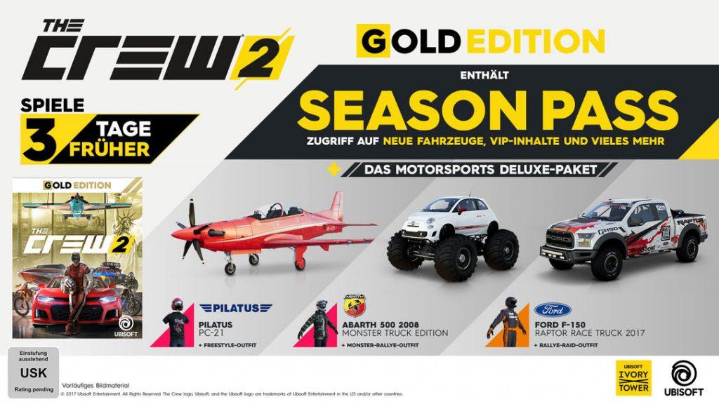 Crew 2 Gold Edition