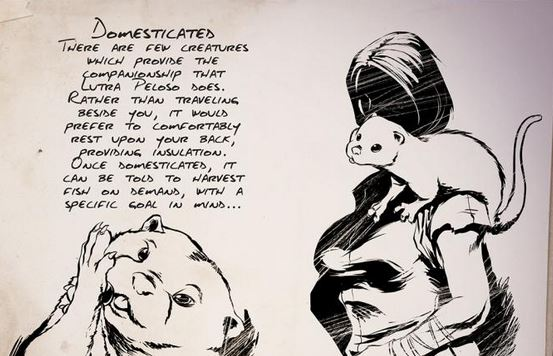ARK Otter Schulter
