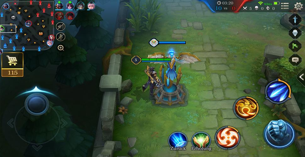 Arena of Valor 5v5 Spiel Übersicht