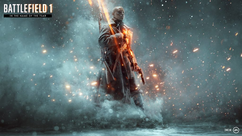 Battlefield 1 In the Name of the Tsar Artwork