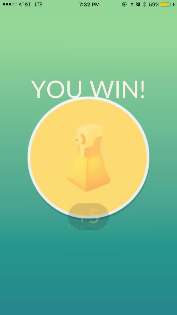 Pokémon GO Trank Belohnung