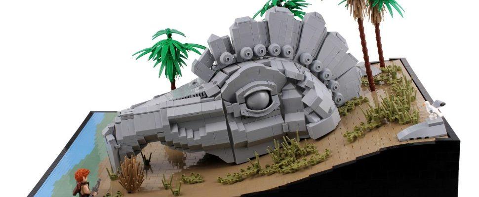 """Cool! Fan baut monatelang """"The Elder Scrolls Online""""-Szenen aus LEGO"""