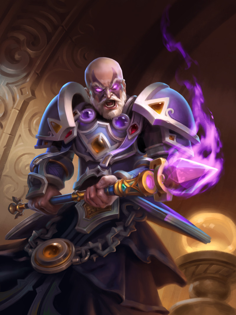 Hearthstone Archbishop Benedictus Full huge