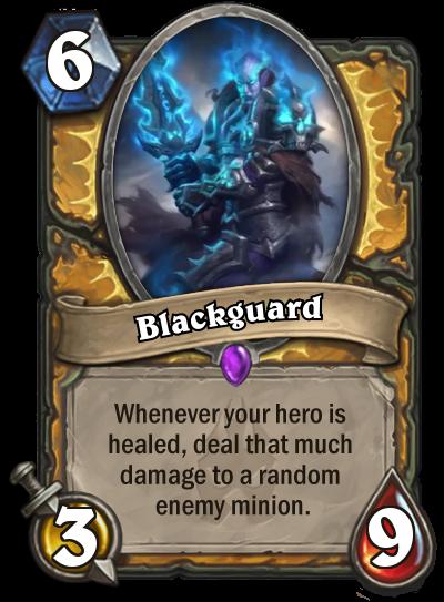 Hearthstone Blackguard