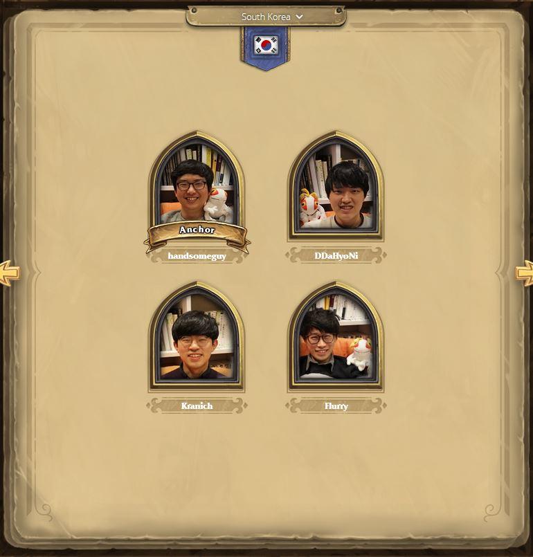 Hearthstone Champion Südkorea