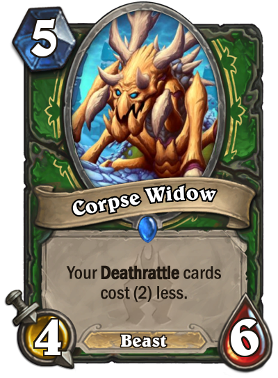 Hearthstone Corpse Widow