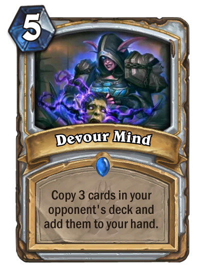 Hearthstone Devour Mind