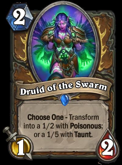 Hearthstone Druid of the Swarm