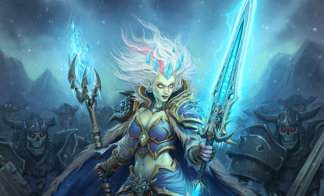 Hearthstone Frost Jaina Full Art